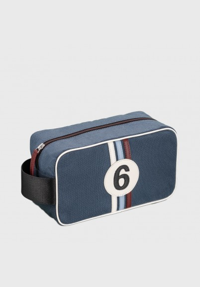 Toiletry bag for man vintage look Bobby BAC6