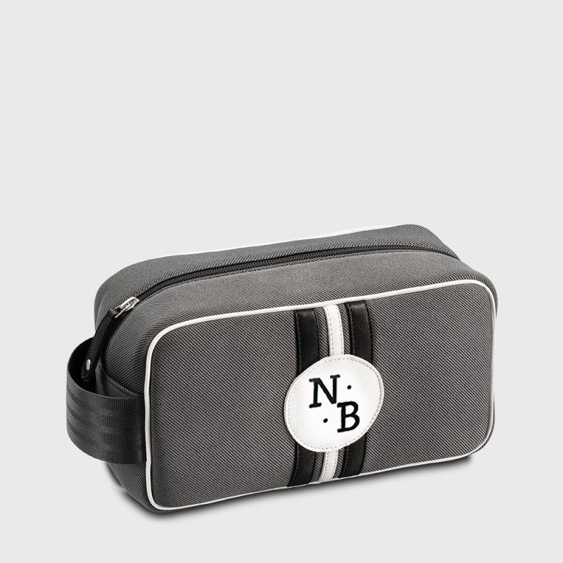 Sustainable personalized toilet bag for man