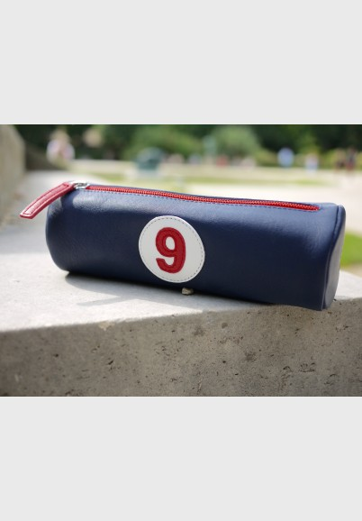 copy of Pencil case in blue leather
