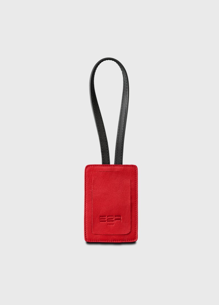 address-tag-red-leather-sustainable