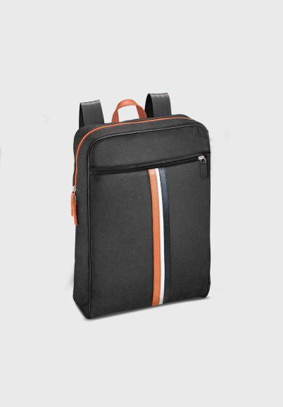 copy of Black backpack for man in canvas and leather