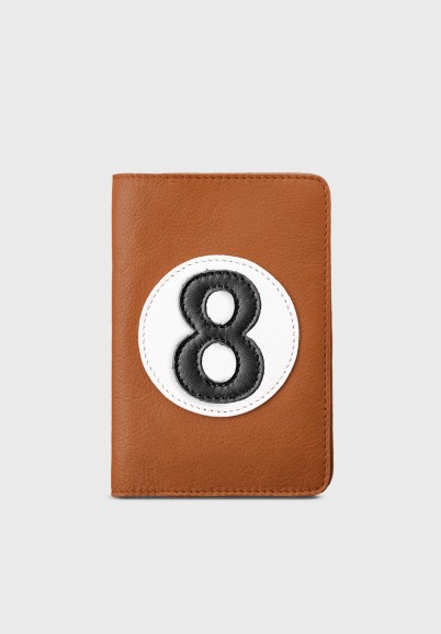 copy of Leather wallet for man camel and black C7